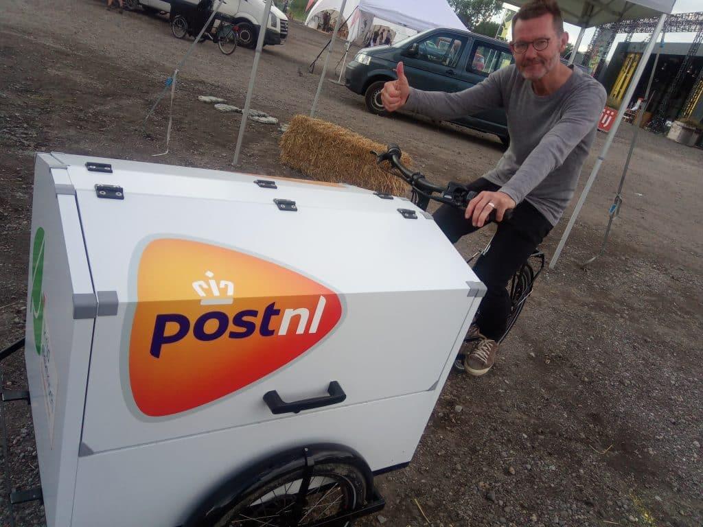 Bezorging met PostNL
