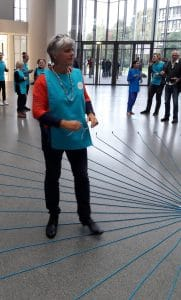 Madeleine Suidman is begeleider van het Zonnestralenspel