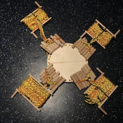Zonnestralenspel met houten platform compleet
